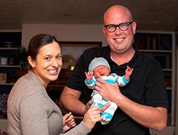 Luke, Betsy & Oscar Bowman